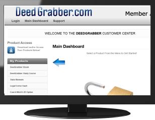 DeedGrabber Member Site